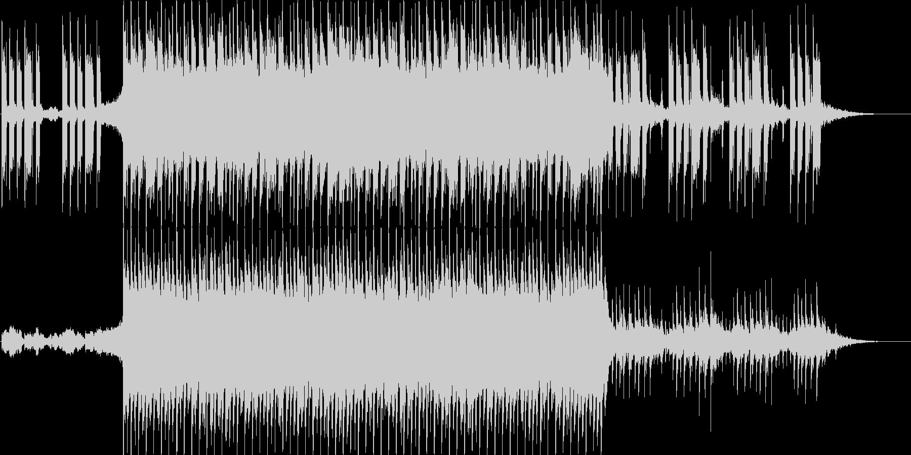 アクティブ&アップビートなポップチューンの未再生の波形