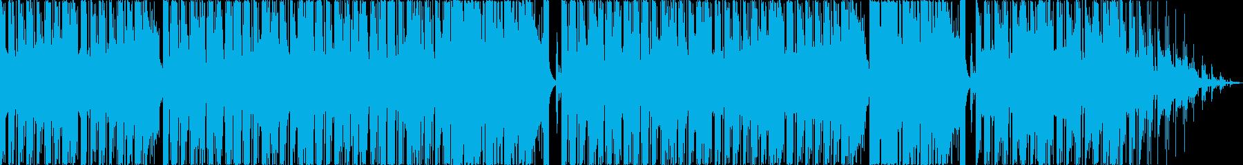 マリンバとピッチカートが可愛い音遊び作品の再生済みの波形