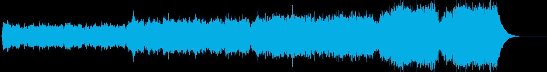 サスペンス系 不気味なストリングスの再生済みの波形