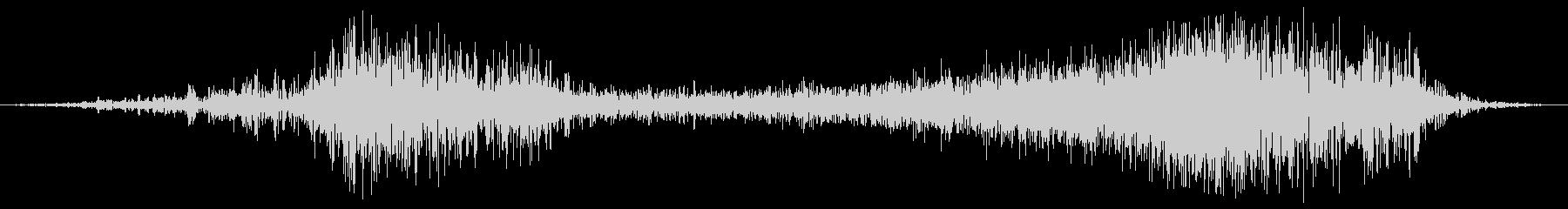 ヘビーメタルローリングフーシの未再生の波形