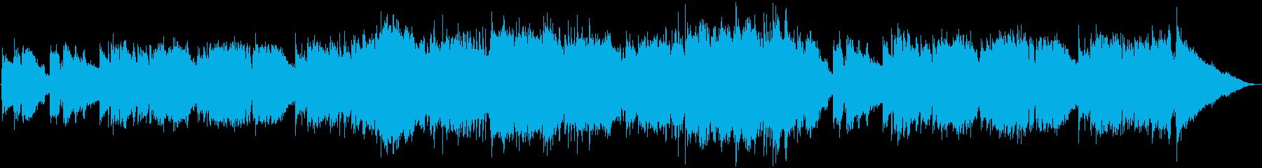 エンディング・優しいフューチャーポップの再生済みの波形