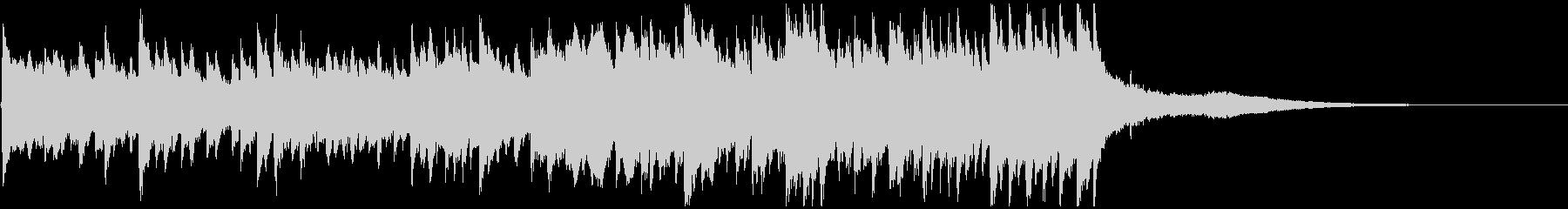 感動ピアノジングル 壮大なエンディングにの未再生の波形