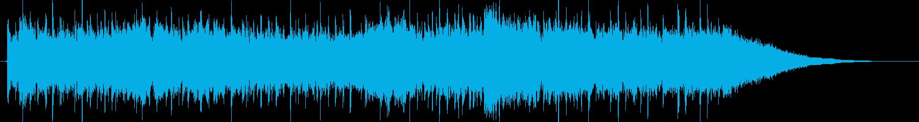 ヘビーメタルなジングルです。(約30秒)の再生済みの波形