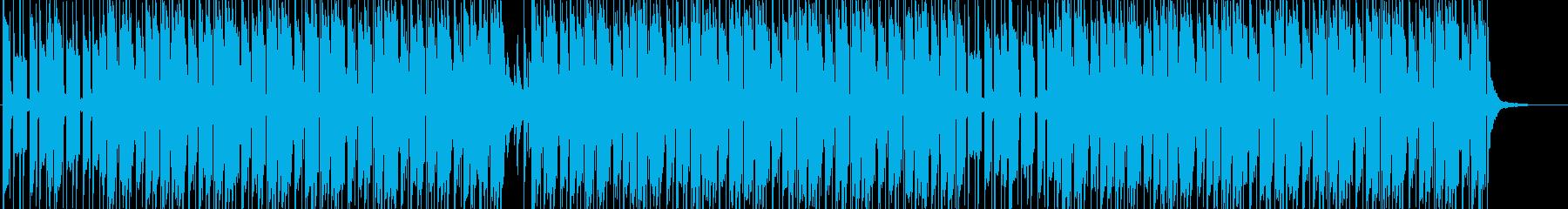 おしゃれなHIPHOP TRAPの再生済みの波形