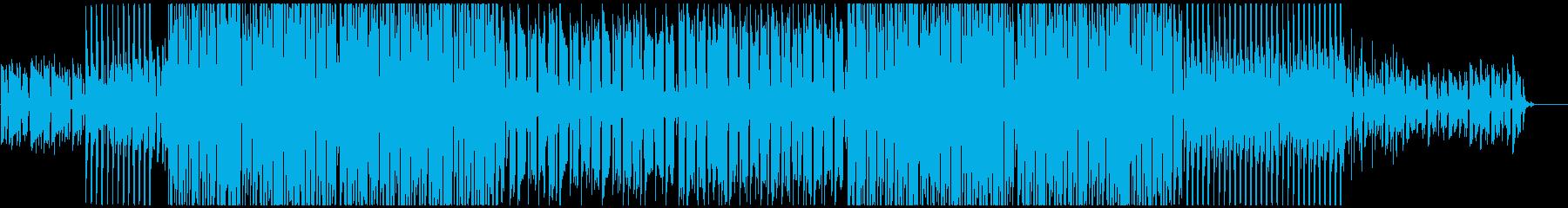 未来を照らすようなコーポレートBGMの再生済みの波形