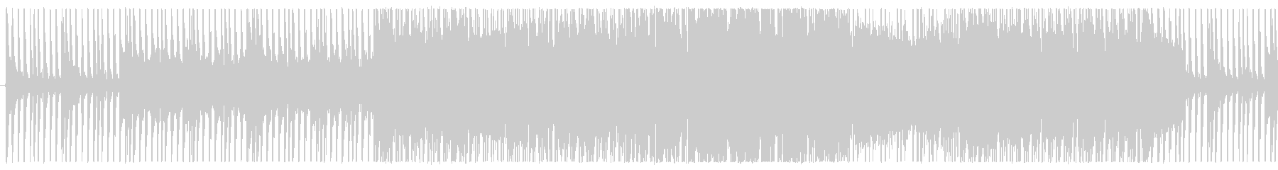 RPG向けバトル曲(ループ仕様)の未再生の波形