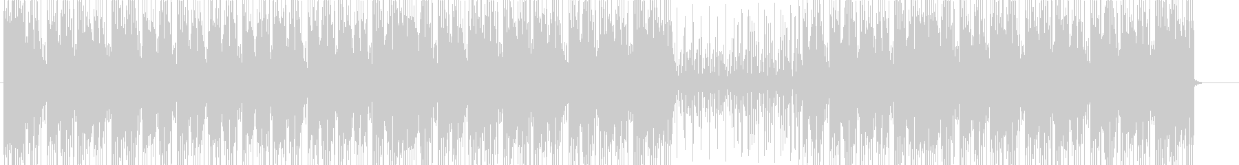 洋楽、90sヒップホップビート♫の未再生の波形