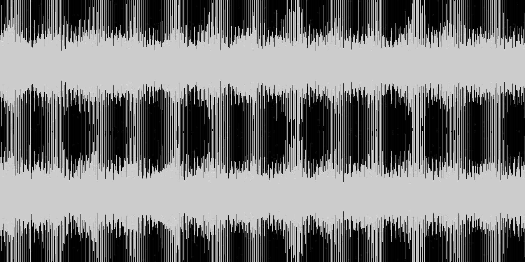 YouTube ミッション 行動 BGMの未再生の波形