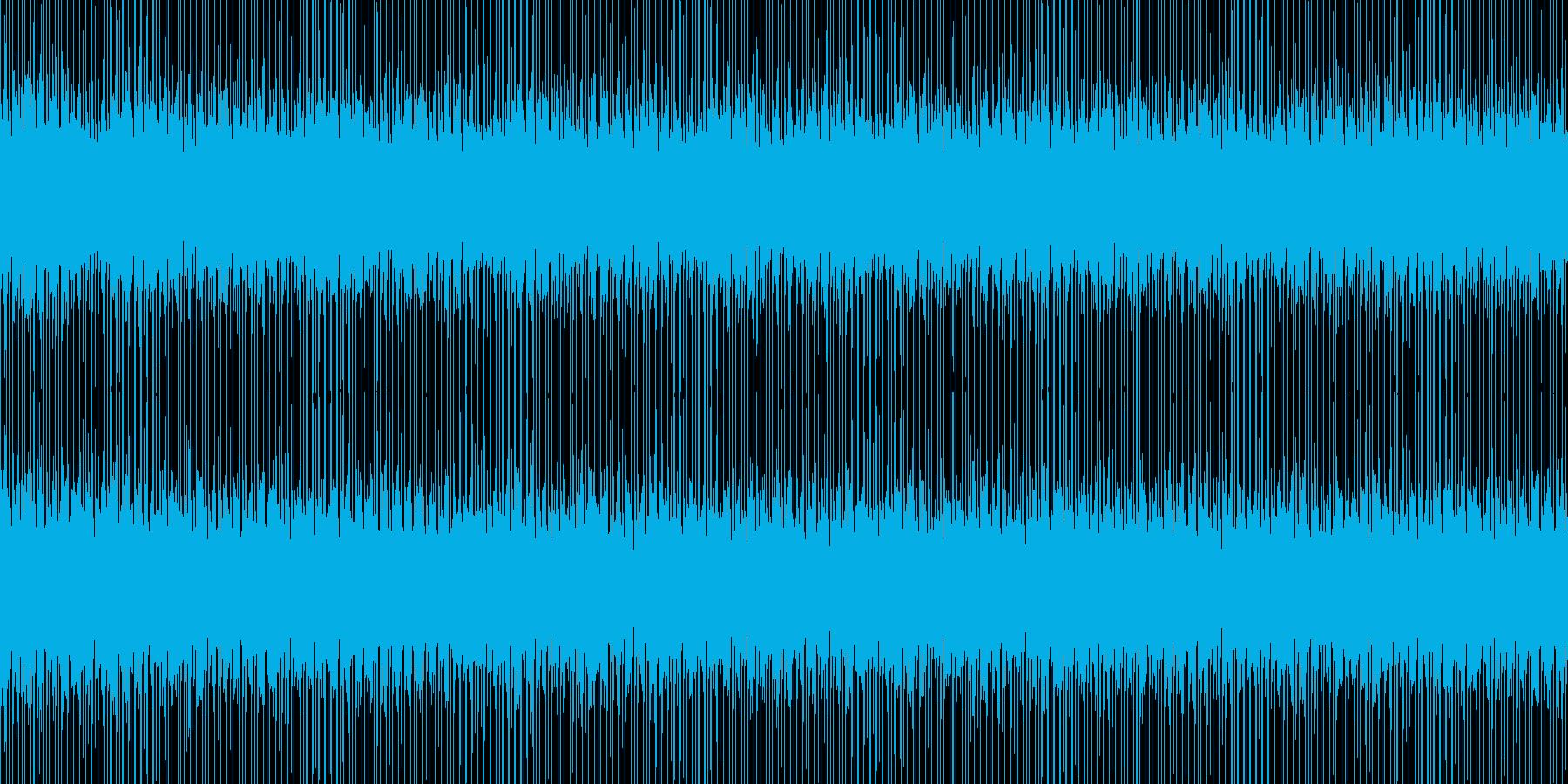 YouTube ミッション 行動 BGMの再生済みの波形
