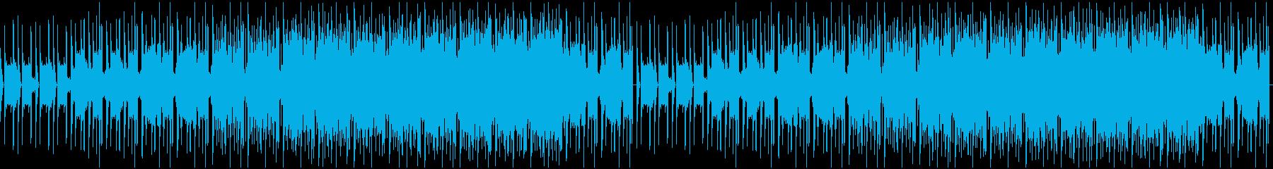 【YouTube】神秘的でミニマルな曲の再生済みの波形