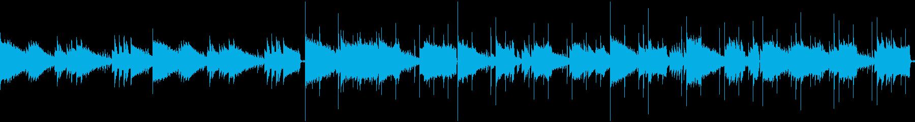 サウンドノベル風 ジャズ エレピ ベースの再生済みの波形