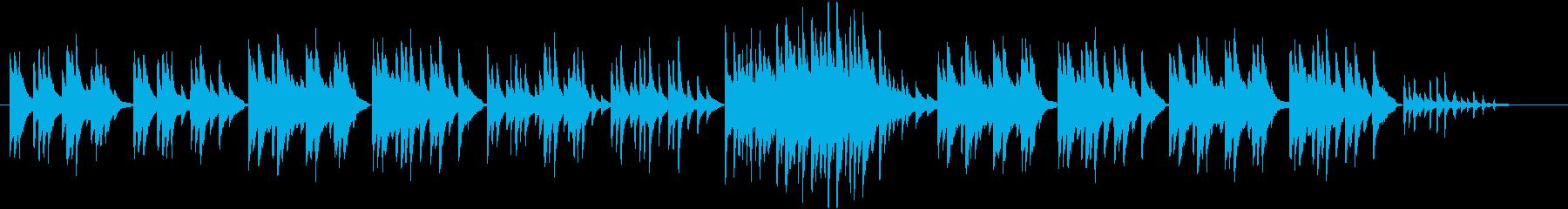 ピアノのちょっぴり切ないスローバラード。の再生済みの波形