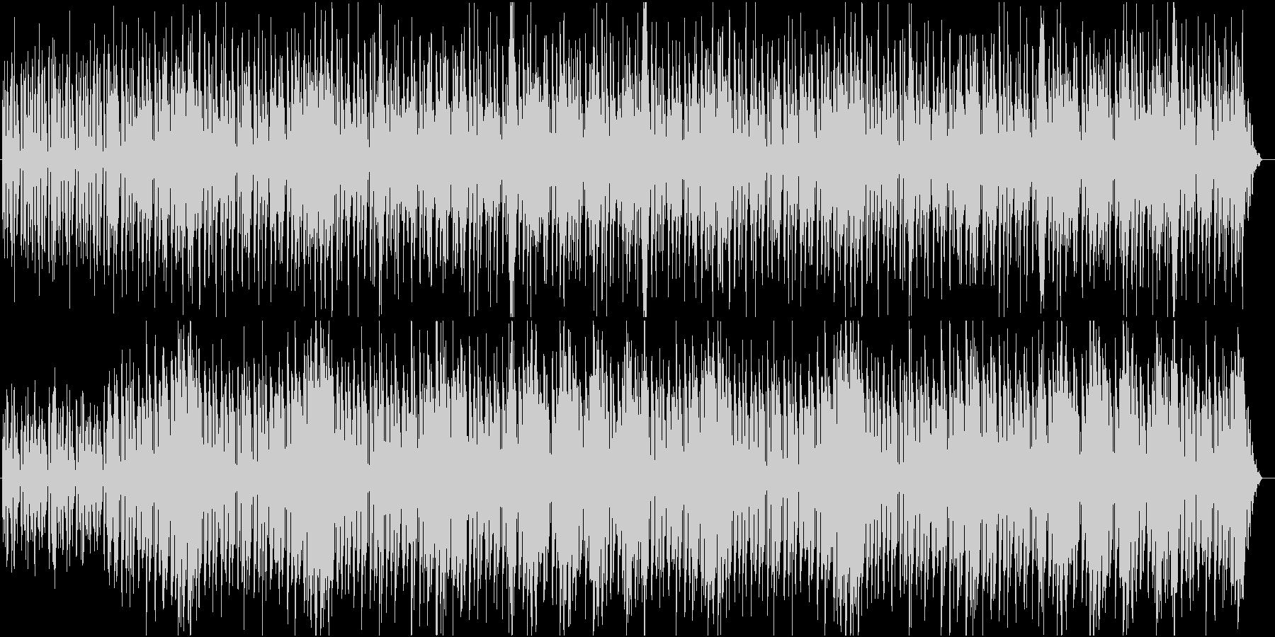 何かが始まる感のあるストリングス曲の未再生の波形