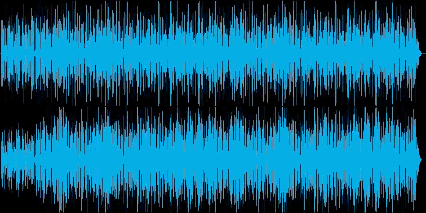 何かが始まる感のあるストリングス曲の再生済みの波形