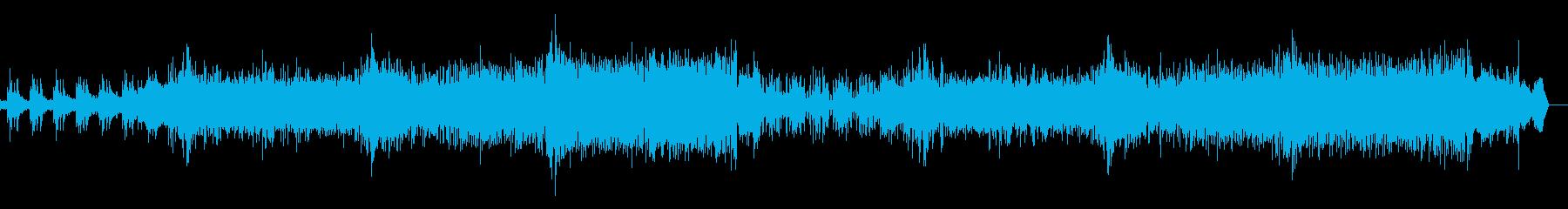 シネマティックで壮大、メカニカルなBGMの再生済みの波形