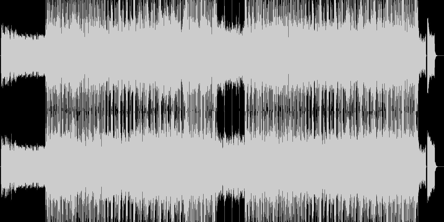 「HR/HM」「DARK」BGM205の未再生の波形