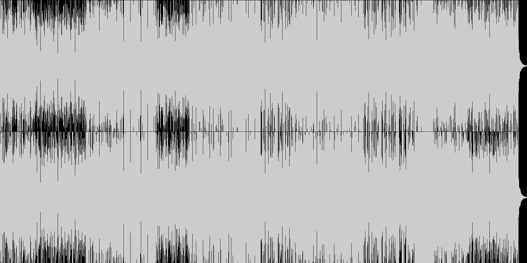 フラメンコ調フュージョンの未再生の波形