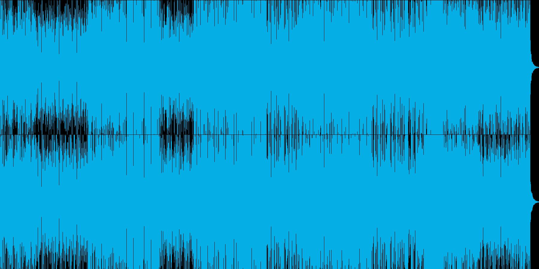 フラメンコ調フュージョンの再生済みの波形