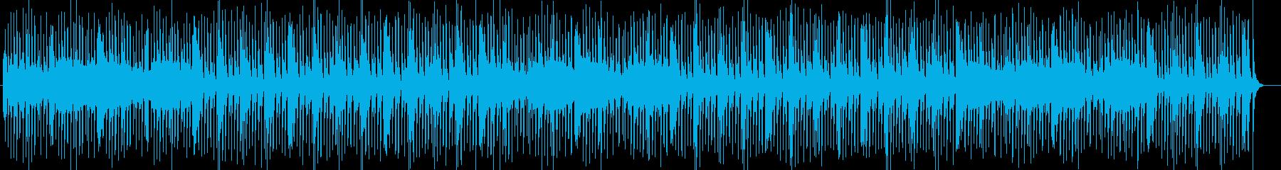 楽しげなシンセ・打楽器・管楽器などポップの再生済みの波形