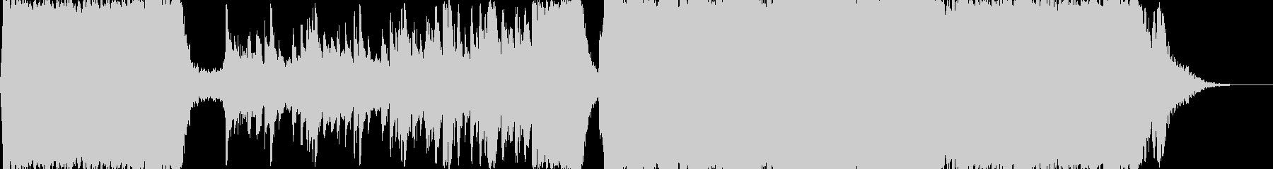 エピック・オーケストラ・接戦の未再生の波形