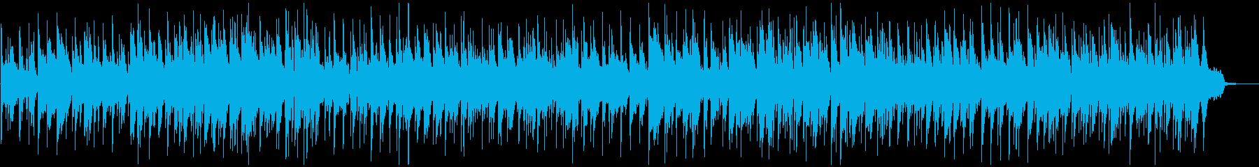 どんな場面にでも合いそうなボサノバの再生済みの波形