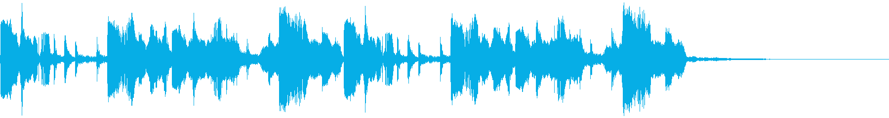 ミステリアス・幻想的日常・神秘的ジングルの再生済みの波形