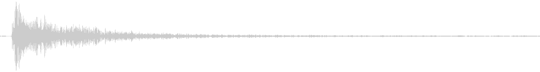Garn (tapping a slimy iron plate 2)'s unreproduced waveform