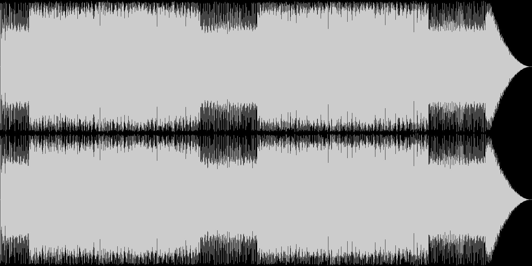 ファミコンダンジョン曲。の未再生の波形