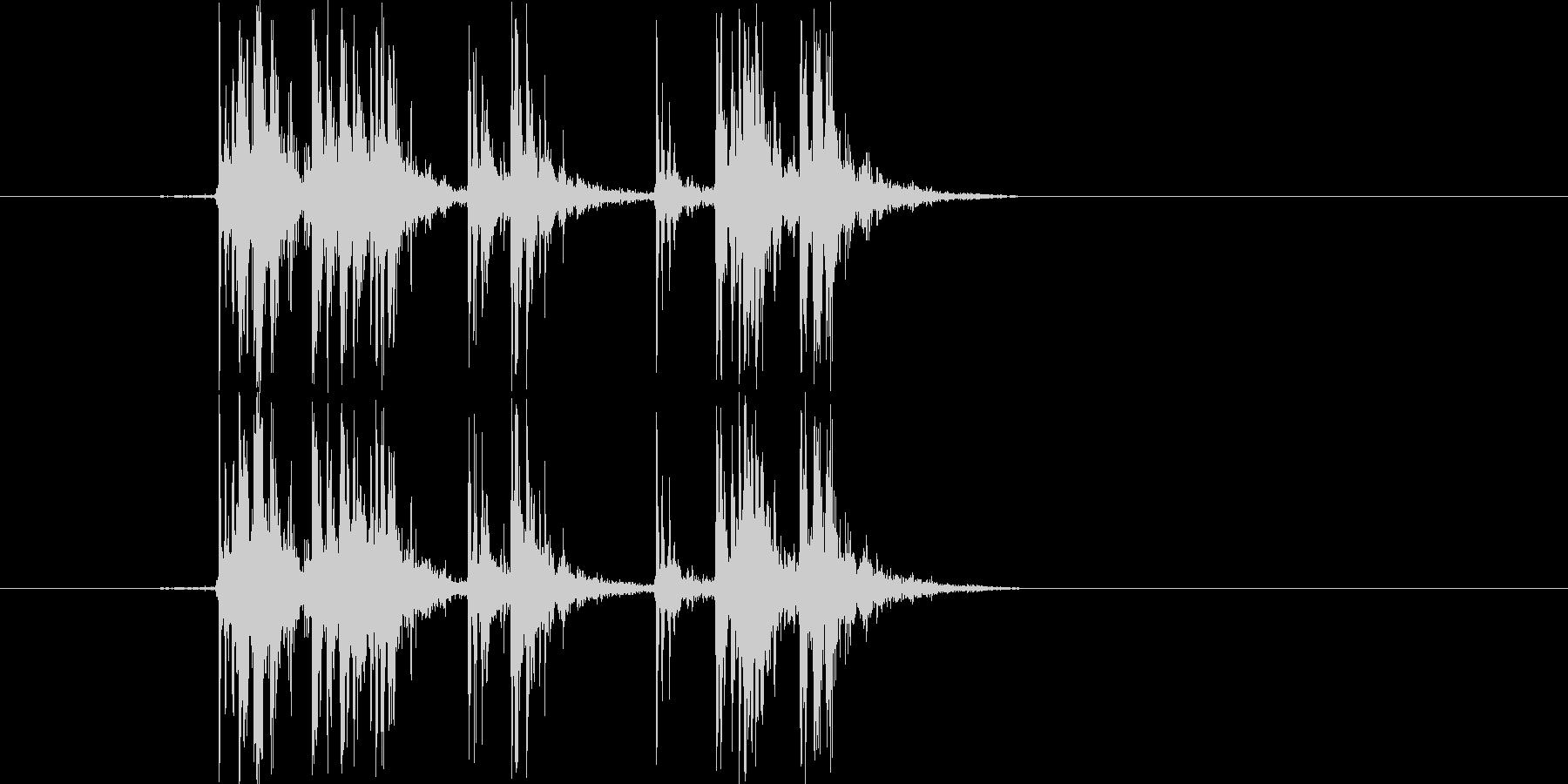 Synthで作成した爆竹SEです。マイ…の未再生の波形