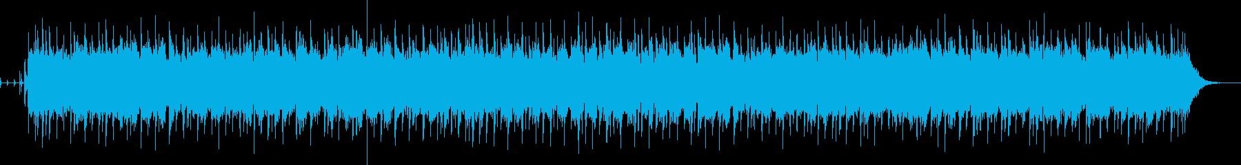 ゆっくり・切ない雰囲気のBGMの再生済みの波形