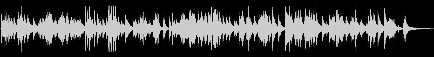 雰囲気のあるジャズ風ラウンジピアノソロの未再生の波形