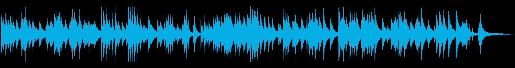 雰囲気のあるジャズ風ラウンジピアノソロの再生済みの波形