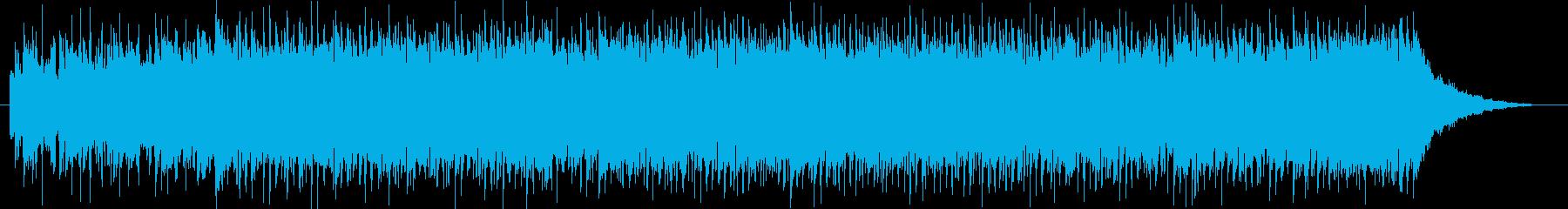 エルガー威風堂々のバンドアレンジの再生済みの波形