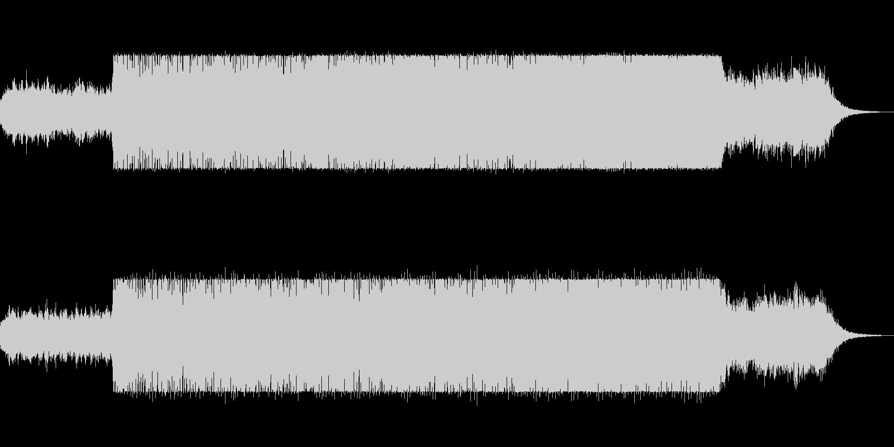 bpm98の壮大で重厚感のあるテクノの未再生の波形