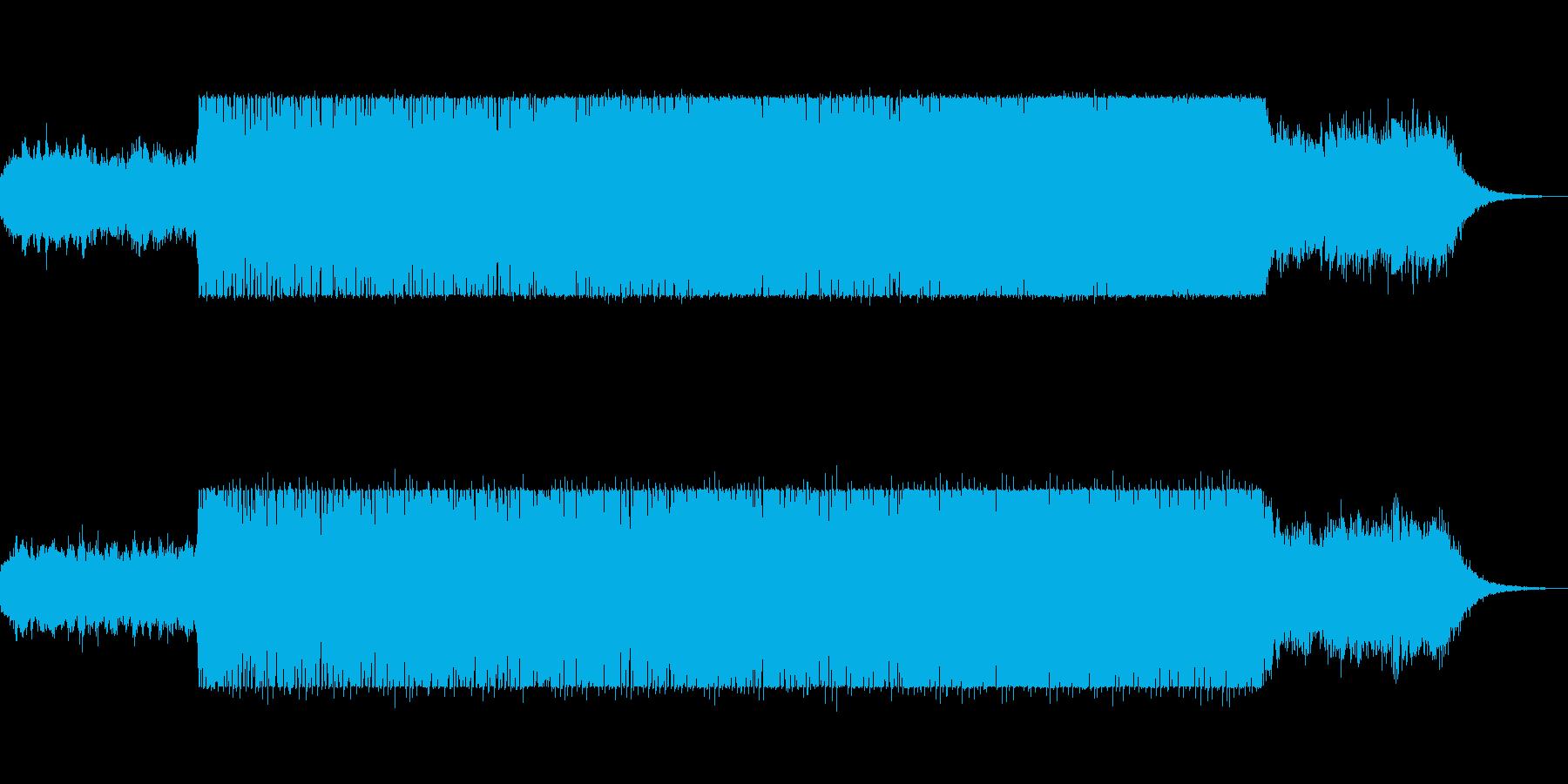 bpm98の壮大で重厚感のあるテクノの再生済みの波形