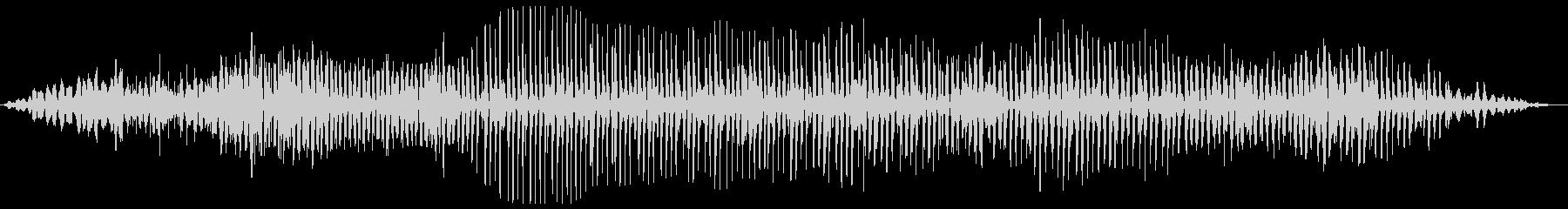 バララララ(プロペラ飛行機の様な効果音)の未再生の波形