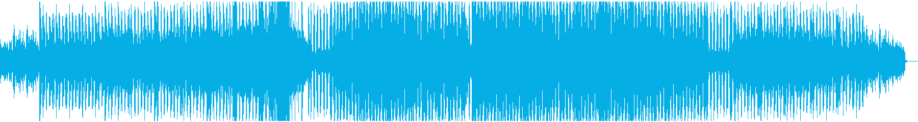 楽しく陽気なテクノサウンドEDMの再生済みの波形