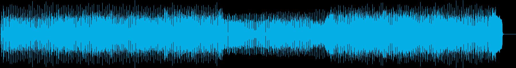 モダンで都会的なディスコの再生済みの波形