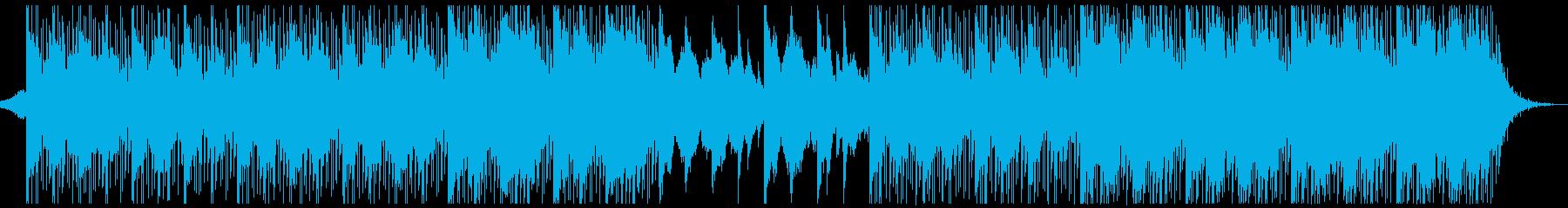 躍動感,オシャレCM、ドラム無バージョンの再生済みの波形