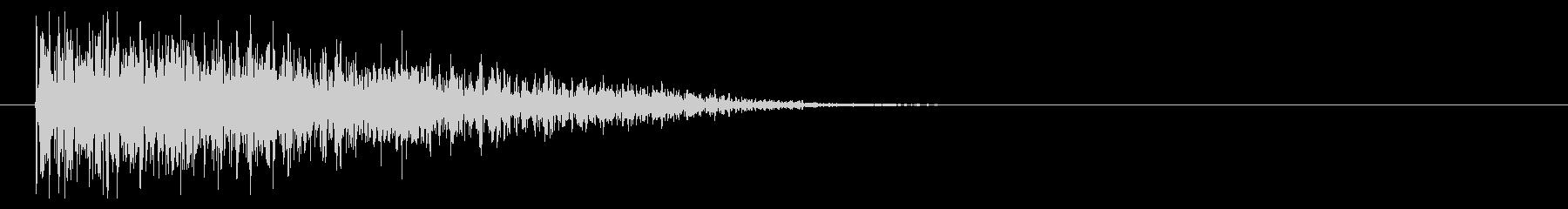 8ビット風爆発音-02-4_revの未再生の波形