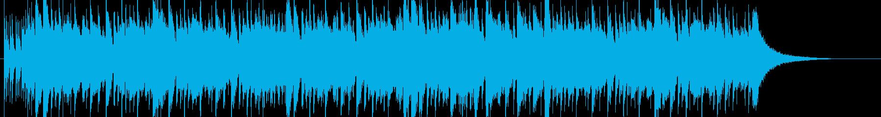 選手のファインプレーをハイライトで紹介!の再生済みの波形