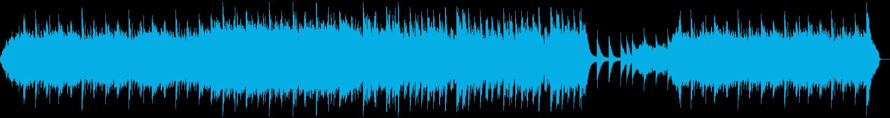 ピアノとストリングスのしっとり壮大な曲の再生済みの波形