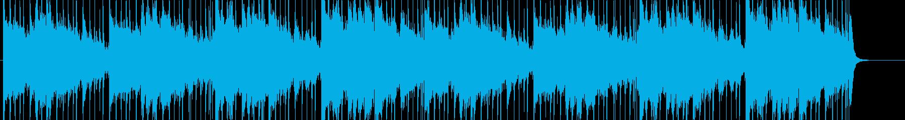 怪しい、疑い、推理、追跡、BGMの再生済みの波形