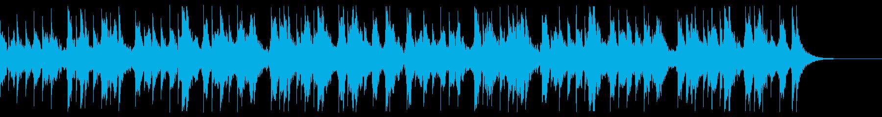 オルゴールアレンジの「かごめかごめ」の再生済みの波形