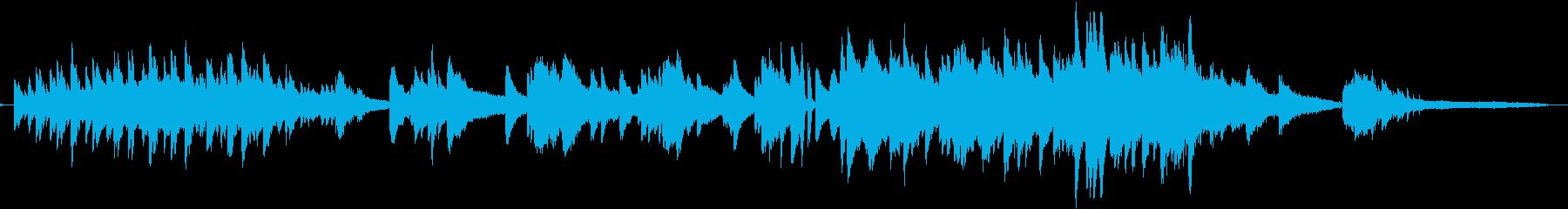 しっとり感動的なピアノとストリングスの再生済みの波形