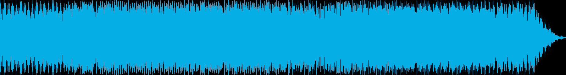 哀愁を帯びたピアノバラードの再生済みの波形