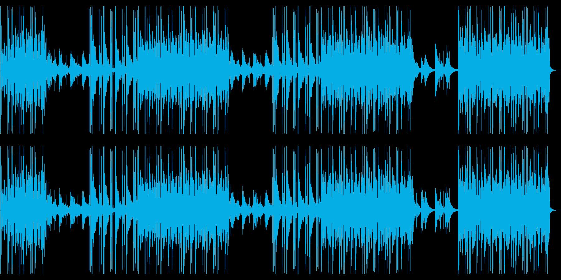 ミステリアスな雰囲気のあるR&Bの再生済みの波形