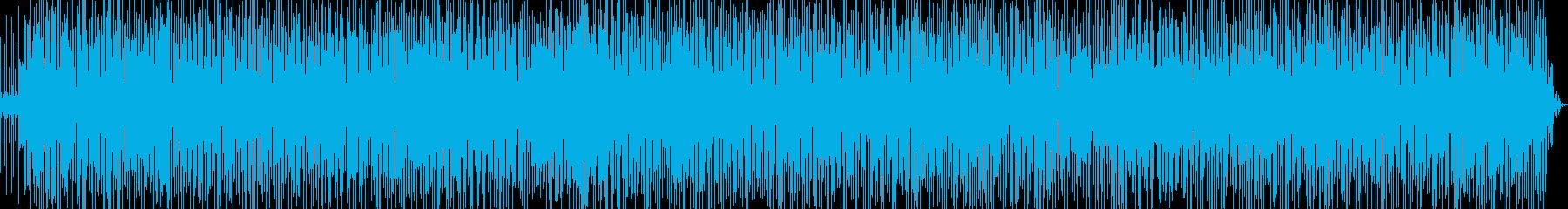 生演奏 軽快なラテンファンク Ver.3の再生済みの波形