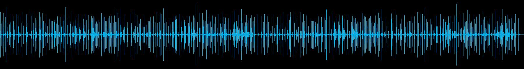 ピクニック 卓上木琴の再生済みの波形