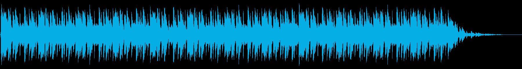 ショートBGM:ファンク-Aの再生済みの波形